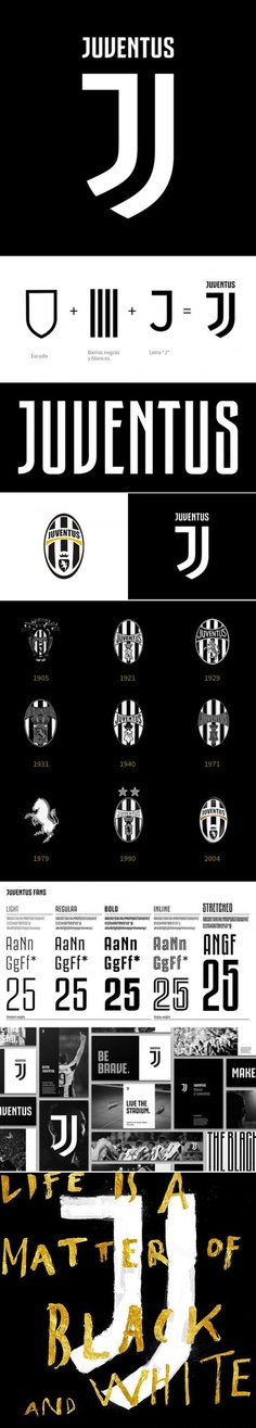 Branding for Juventus Football Club by Interbrand (2017)