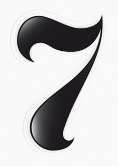Seven on Behance #lettering #design #logo #illustration #type #typography