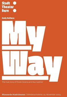 All sizes | MyWay_STB_Flyer.indd | Flickr - Photo Sharing! #fedra #poster