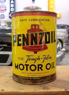 3730380285_063c9d7d36_b.jpg (JPEG Image, 747x1024 pixels) #motor #design #yellow #vintage #pennzoil #package #oil