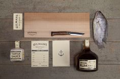 Gilmans Packaging on the Behance Network #packaging #product #design