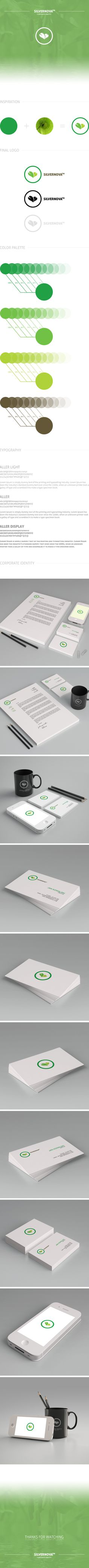 SILVERNOVA #design #corporate #identity #ci #logo