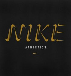 Nike Logotype by Andy Gellenberg #font #logotype #lettering #type #logo #corporate #nike #sports #identity #swoosh
