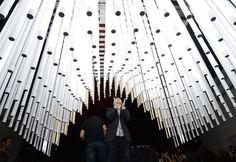Light house fluorescent tube installation | SONOS | by SOFTlabStudio Blog Architecture + Design