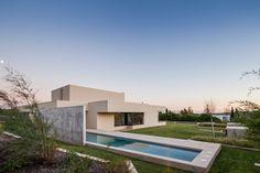 Imposing Modern Residence Near Lisbon, Portugal: Belas House #architecture #modern