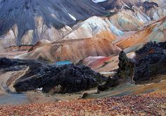 Landmannalaugar, Iceland | Flickr - Photo Sharing! #landscape