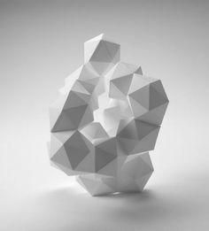 OTAKU GANGSTA #sculpture #geometric