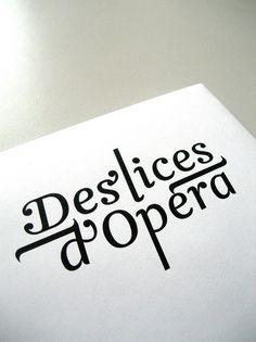 Clik clk – Blog D'inspiration : Graphisme, Photographie & Mode » Studio Punkat #logo #deslices #dopera
