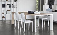 Arredo casa_LAM è il tavolo allungabile caratterizzato da linee pure, Callegaris #cabine #accessori #tavoli #librerie #letti #arredo #sedute #sgabelli #modulari #design #mobili #bagno #sedie #lounge #armadio #poltrone #complementi #armadi #shop #casa #bar #lampade #banco #cucine