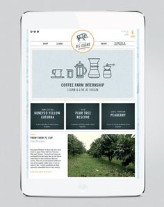 Big Island Coffee Roasters #website #mobile