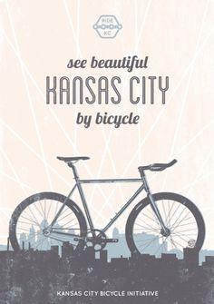 Kansas City Bicycle Initiative Poster