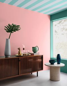 An apartment styled for the Swedish paint company Alcro