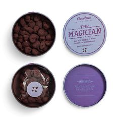 CHOCOLATES WITH ATTITUDE 2012 Bessermachen #magician #chocolates #package
