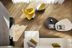 Porcelain Stoneware Floor Tiles With Wood Effect