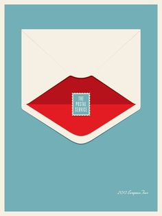 The Postal Service Europe Tour #poster