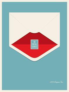 The Postal Service Europe Tour #poster