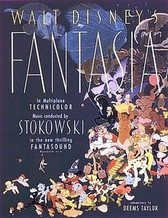 Things That Don't Suck: Fantasia #fantasia #disney #design #film