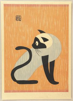 Kiyoshi Saito Gallery | #illustration #japan #cat