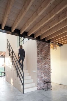 Old Brick House Replaced by a New Sustainable Timber House in Amsterdam 7