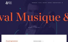 festival musique music beautiful type font typography mindsparkle mag webdesign website best simple modern minimal cool award sotd site of t