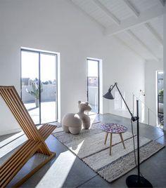 Family Home for a Young Couple simple geometrical forms pony #decor #interior #interior design #home decor