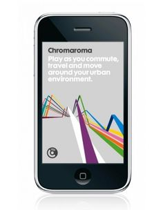 Chromaroma / Identity / Folio / Proud Creative +44 20 7729 6170 #simple #digital #design #graphic