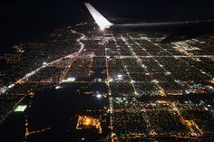 los angeles california usa by fksr #inspiration #creative #airplane #flying #photography #beautiful