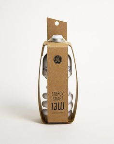 Michelle Wang, Light Bulb - Sustainable T-shirt Packaging #graphic design #design #packaging #3d