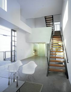 CJWHO ™ (Orange Grove Lofts by Brooks + Scarpa Located in...) #hollywood #design #scarpa #photography #architecture #case #+ #stair #america #brooks
