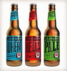 Design Work Life » Tenfold Collective #beer #label #typography