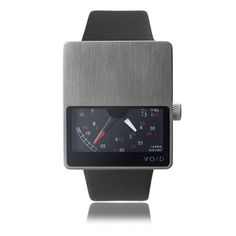 Dezeen Watch Store » Shop»Catalog Products»VOID V02 ($100-200) - Svpply #design #industrial #timepiece #watch #metal #fine