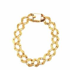 Nugget Curb Link Bracelet