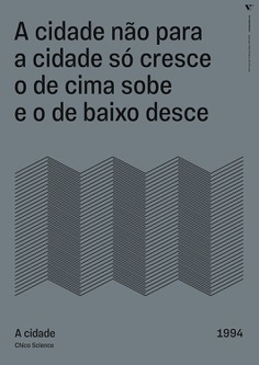 Tipoversos Identity - Mindsparkle Mag Lyrics are the visual and textual manifestation of a song and inspire Tipoversos, a series of 15 posters about brazilian music with lyrics that bring reflection, protest and a certain dose of hope. This beautiful project was designed by Johnny Brito. #logo #packaging #identity #branding #design #color #photography #graphic #design #gallery #blog #project #mindsparkle #mag #beautiful #portfolio #designer