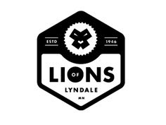 Lions of Lyndale icon by Allan Peters