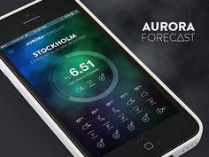 Aurora Forecast iPhone App