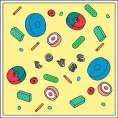 Patterns Draw by Ana Cuna