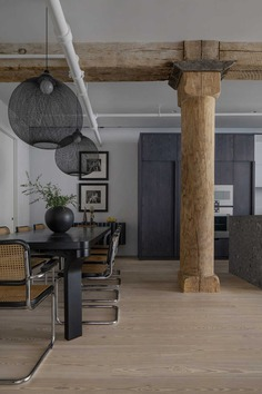 dining room, Worrell Yeung Architecture