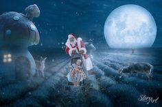 The Christmas Wish Project: Karen Alsop Creates Gaming and Cinematic Composites With Sick Children