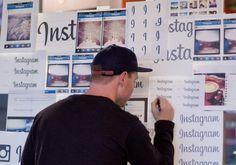 Designing the Instagram Logo #lettering #designer #instagram #graphic #logo #typography