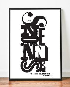 Words To Live By Francesca Campanella #quote #type #print #poster