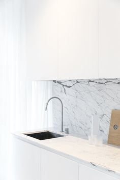 Paddington by cm studio. #kitchen #minimal #cmstudio #marble