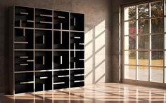 typography | Colossal #buchstaben #echte #einrichtung