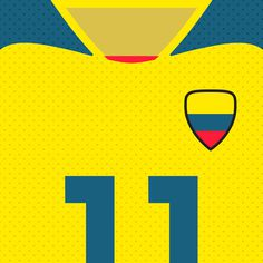 Ecuador La Tricolor #flat #swiss #world #design #clean #shirts #nations #sports #fifa #football #cup #futbol #ecuador
