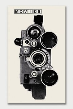Modern + Popular Photography, 1958/59 / Aqua-Velvet #white #camera #black #and #movies