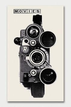 Modern + Popular Photography, 1958/59 / Aqua-Velvet #camera #black and white #movies