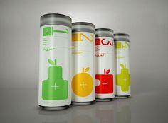 Agua+ - TheDieline.com - Package Design Blog #modern #agua #packaging #print #design #minimal
