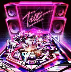 KILIAN ENG / DW DESIGN #pink #retro #tilt #glow #pinball #kilian #eng