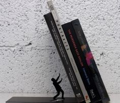 Falling Books Bookend #office #gadget #home