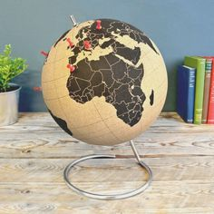 Cork Globe #tech #flow #gadget #gift #ideas #cool