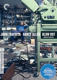 Blow Out (1981) - The Criterion Collection #cover #film #movie #dvd